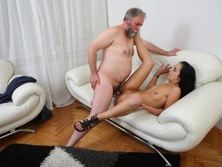Tracy can't believe her luck when the old guy decides he..