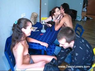 Teenagers enjoy sex